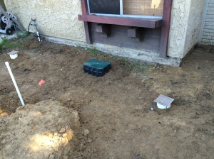 FRONT YARD AFTER BACKFILL