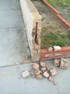 BROKEN HOA WALL