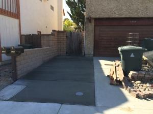 Finished Side Yard