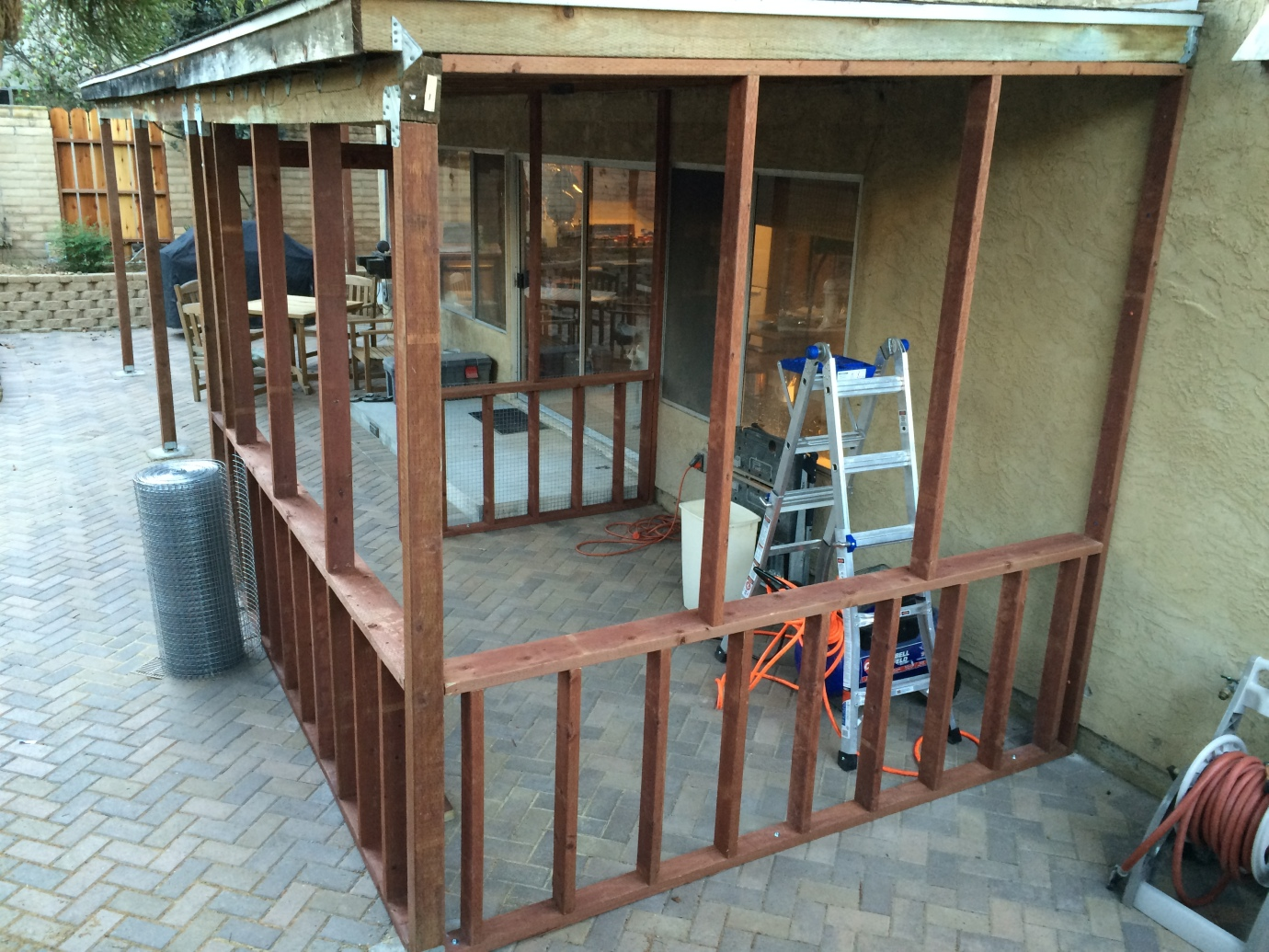 Building A Catio Learning To Love Cats And Keeping Them Happy Frank S Home Remodeling Project