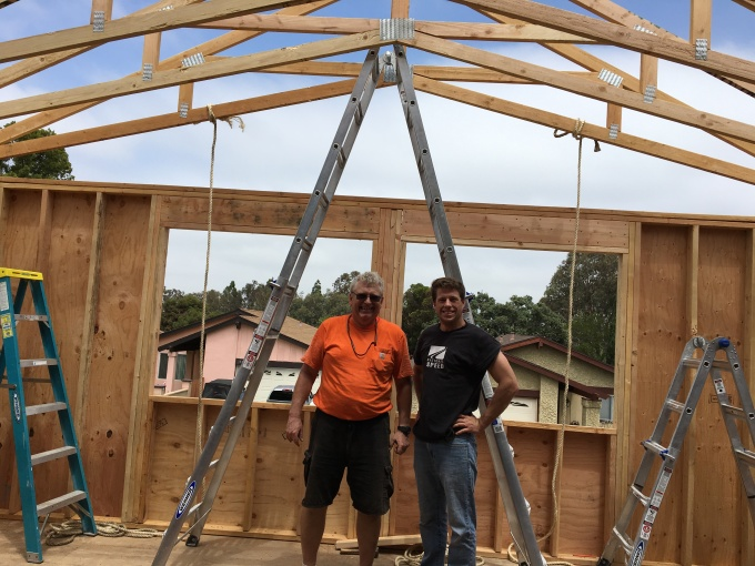 """My """"crew"""". Their help was indispensable in completing this phase of the project."""