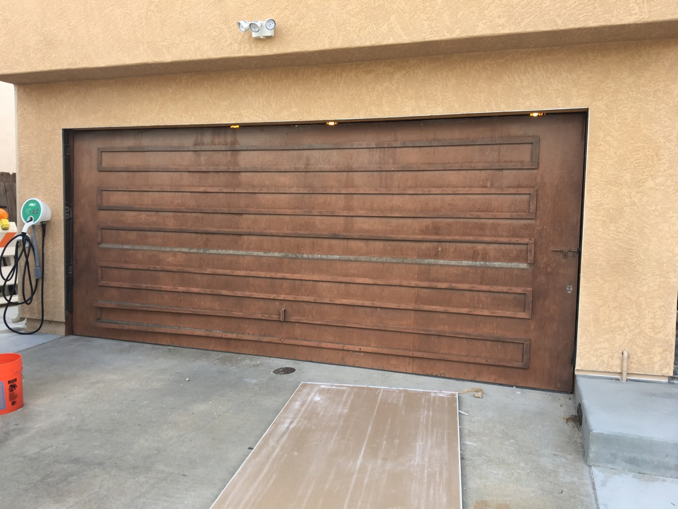 A New Garage Door | Frank's Home Remodeling Project